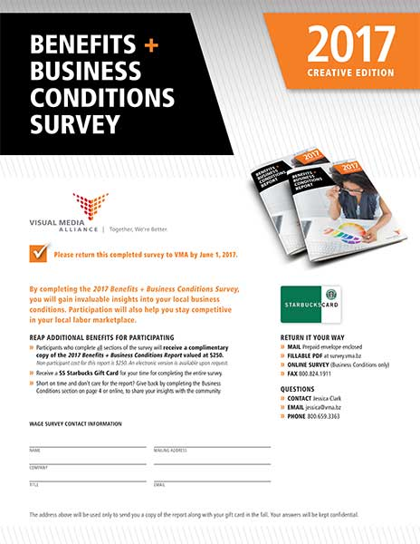 2017 Creative Benefits and Business Conditions Survey