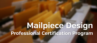 Mail Piece Design Professional Certification