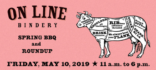 On Line Bindery BBQ + Roundup