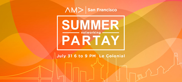 AMA SF Summer Networking Partay